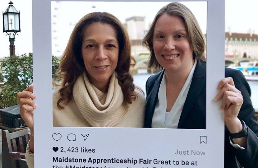 Helen Grant MP and Tracey Crouch MP look forward to 2019 Apprenticeship Fair