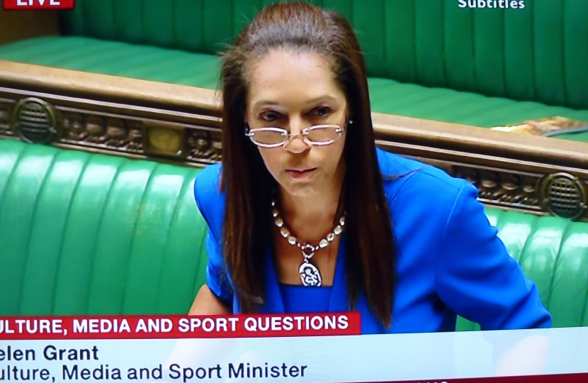 Helen addresses the House of Commons as Equalities Minister