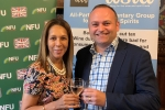 Helen with Neil Coyle at Wine Reception in Parliament