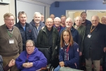 Helen with Staplehurst Men's Shed Group